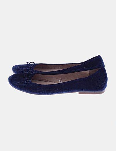 Bailarina básica azul marino