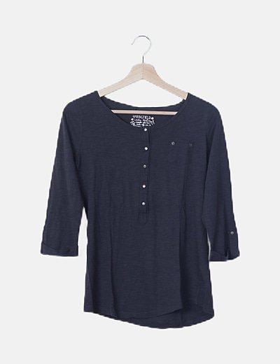 Camiseta básica gris marengo