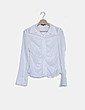 Camisa blanca combinada Adolfo Dominguez