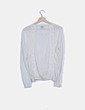 Chaqueta blanca tricot Adolfo Dominguez
