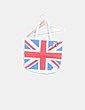 Bolso shopper print flag NoName