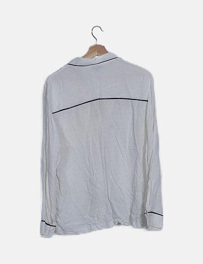 Topshop Camisa pijamera blanca (descuento 59 %) Micolet