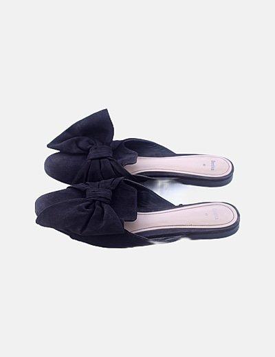 Zapato descalzo ante negro