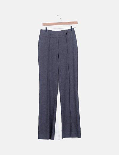 Pantalón pinzas gris
