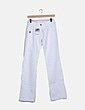 Pantalon denim blanco Desigual