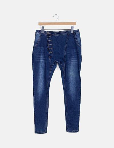 Jeans denim harem