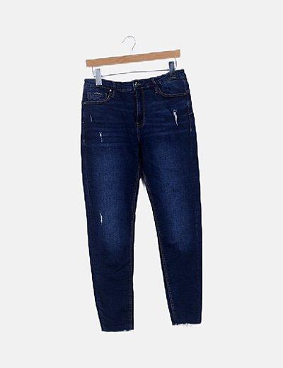 Jeans denim body shape