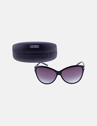 Gafas de sol montura negra redonda