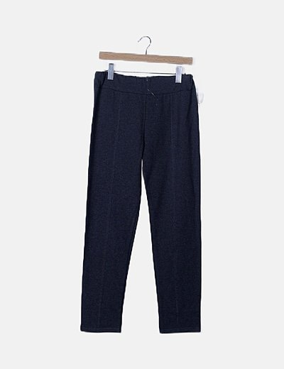 Made in Italy straight trousers