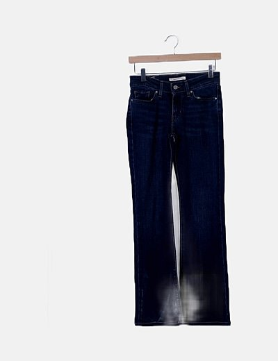 Jeans oscuro bootcut