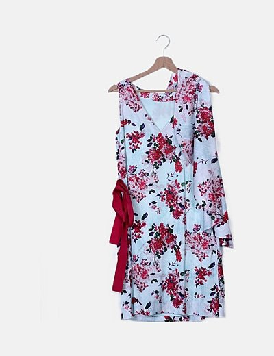 Vestido fluido print floral