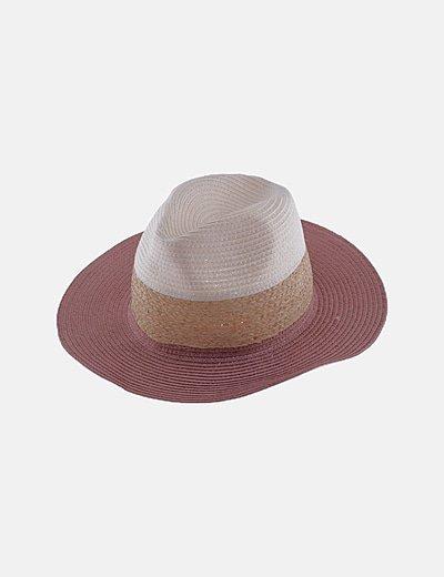 Sombrero fieltro multicolor