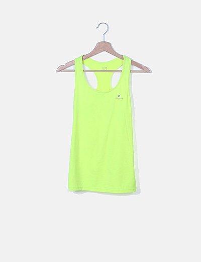 Camiseta amarillo flúor