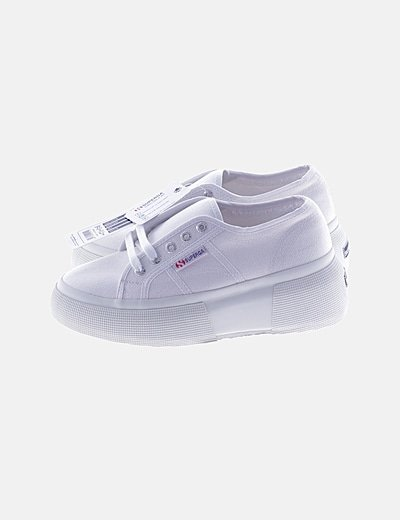 Zapatillas blancas plataforma
