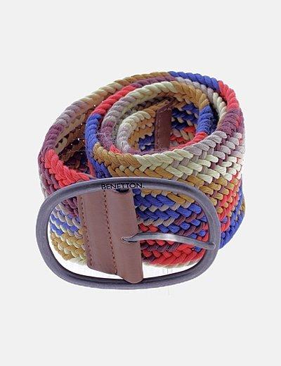 Cinturón ancho multicolor