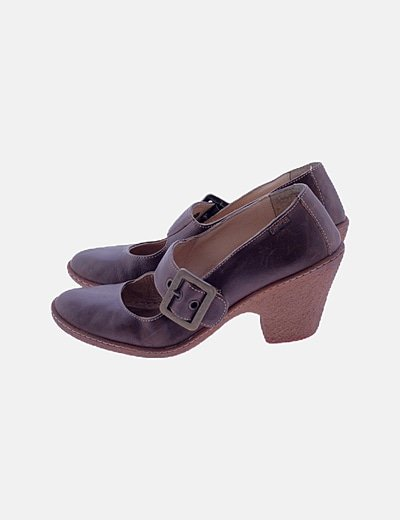 Zapatos camper marrones