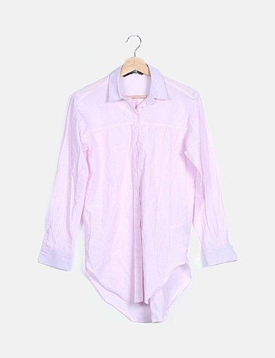 Camisa rayas rosas