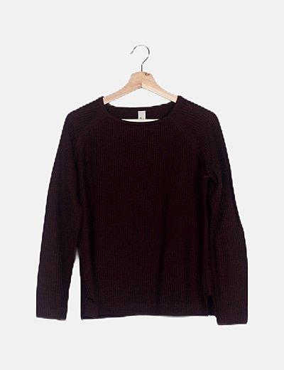 Jersey tricot granate