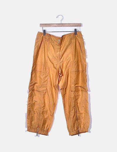 Pantalón bombacho naranja