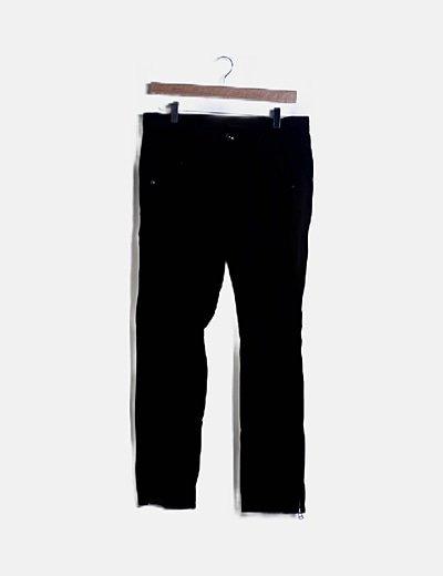 Pantalón safari negro