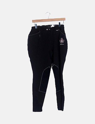 Fouganza Pantalon Trekking Negro Descuento 90 Micolet