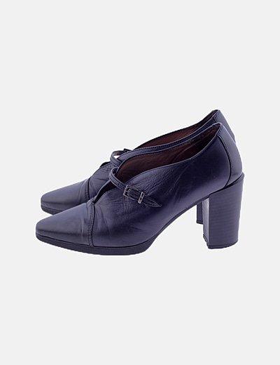 Zapato azul marino pulsera