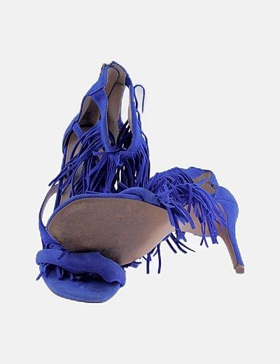 película hermosa Odia  Steve Madden Sandalias flecos azules (descuento 70 %) - Micolet