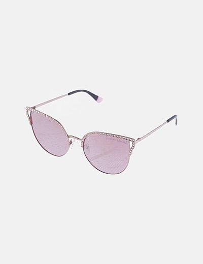 Gafas de sol glam montura strass