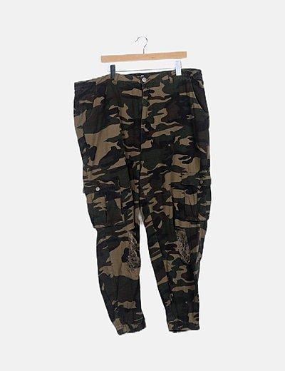 Boohoo baggy trousers