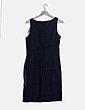 Vestido negro print Desigual