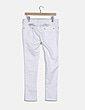 Pantalón pitillo blanco con strass New stone