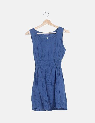 Vestido mini azul