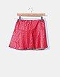Mini falda polipiel roja Zara Kids
