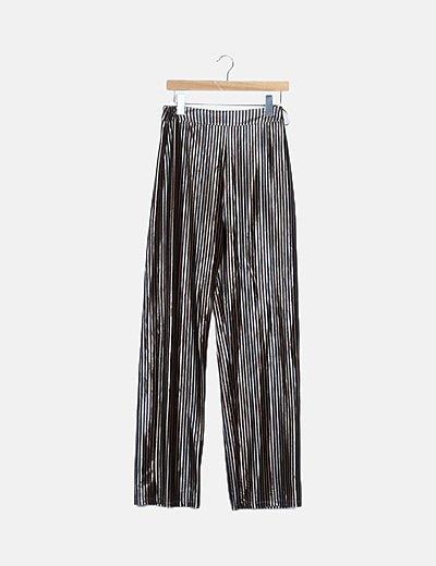 Pantalón terciopelo rayas
