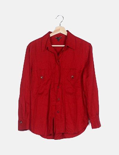Camisa básica roja