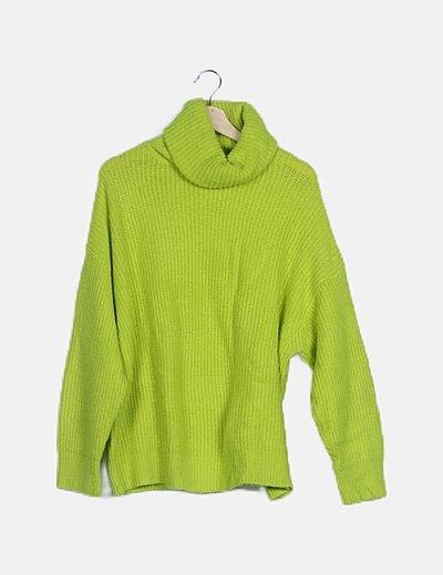 Jersey oversize flúor verde