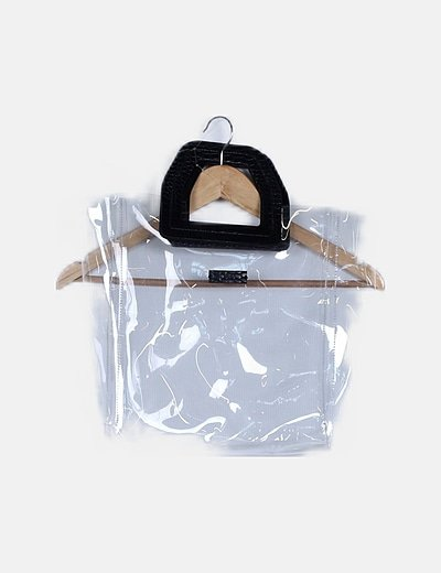 Bolso shopper transparente