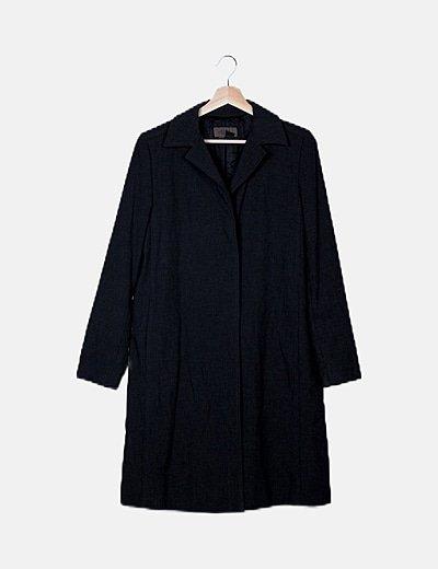 Abrigo largo gris marengo