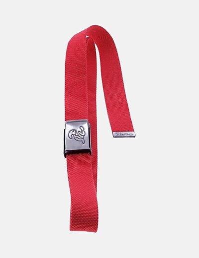 Cinturón tela rojo