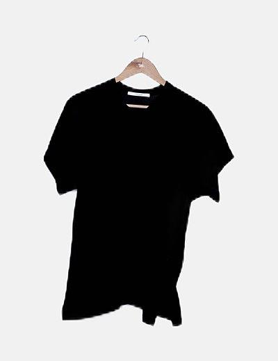 Camiseta oversize negra