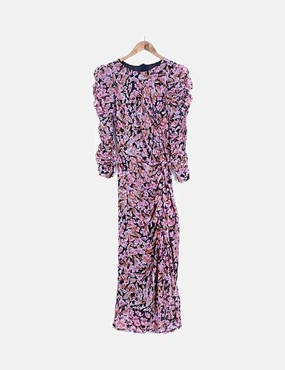 Vestido maxi estampado floral