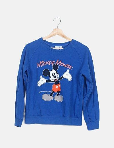 Sudadera azul mickey mouse