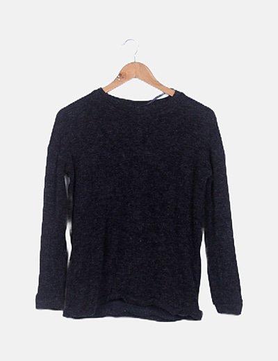 Jersey negro lana