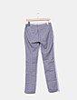 Pantalón azul marino estampado Sfera
