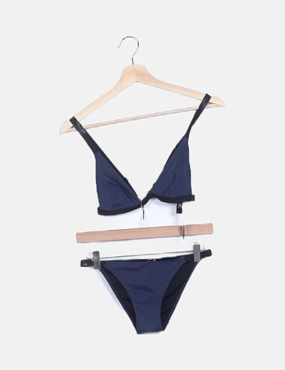 Bikini azul marino