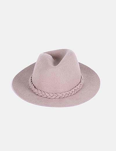 Sombrero de lana camel