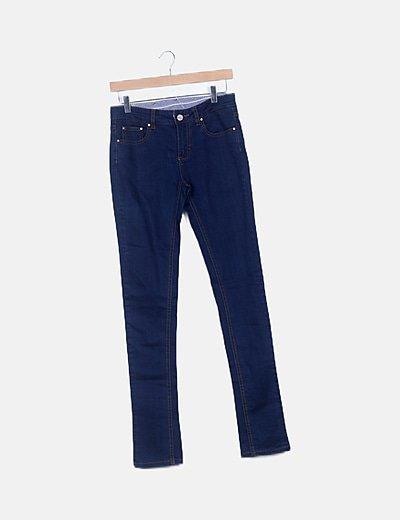 Jeans azul pitillos