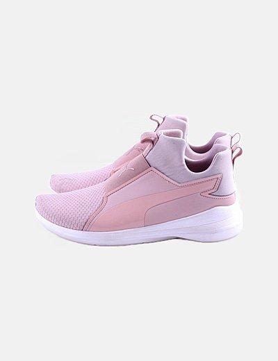 Zapatilla deportiva rosa