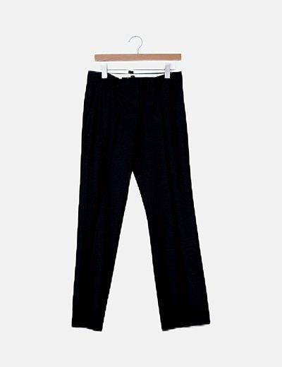 Pantalón negro sastre