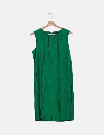 Vestido maxi verde
